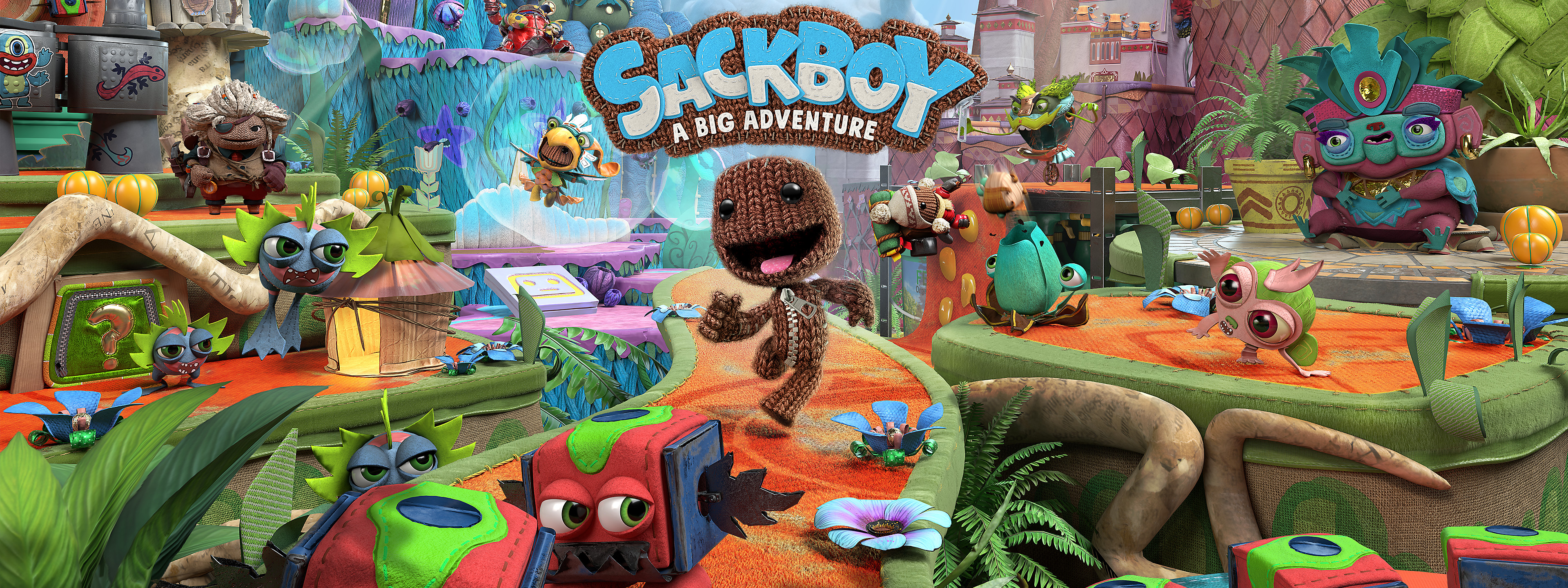 Sackboy A Big Adventure - Gameplay Trailer Now Available