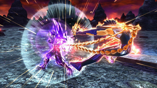 Saint Seiya Soldiers' Soul Screenshot 1