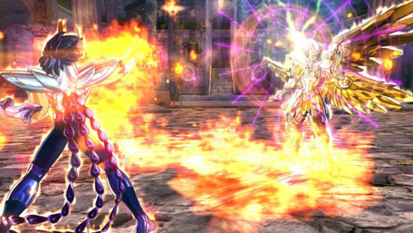 Saint Seiya Soldiers' Soul Trailer Screenshot