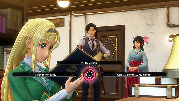 Sakura Wars™ - Screenshot INDEX