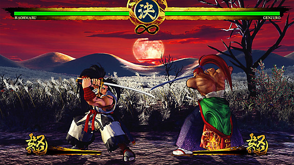 SAMURAI SHODOWN - Screenshot INDEX
