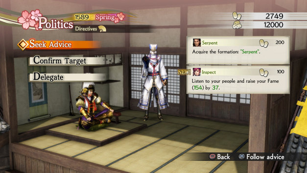 Samurai Warriors 4 Empires Screenshot 1