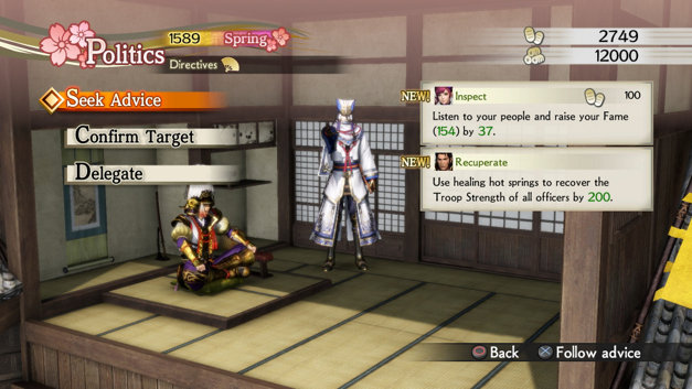 Samurai Warriors 4 Empires Screenshot 13