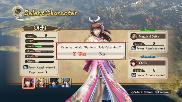 Samurai Warriors - Spirit of Sanada Screenshot 4