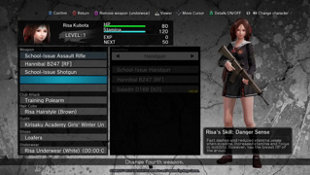 School Girl/Zombie Hunter Screenshot 8