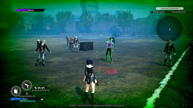 School Girl/Zombie Hunter Screenshot 7