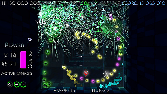 Scintillatron 4096 screenshot