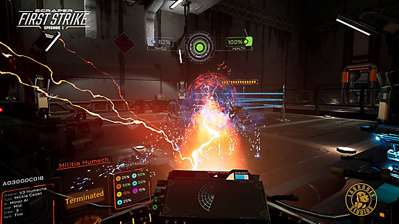 SCRAPER: First Strike - Screenshot INDEX