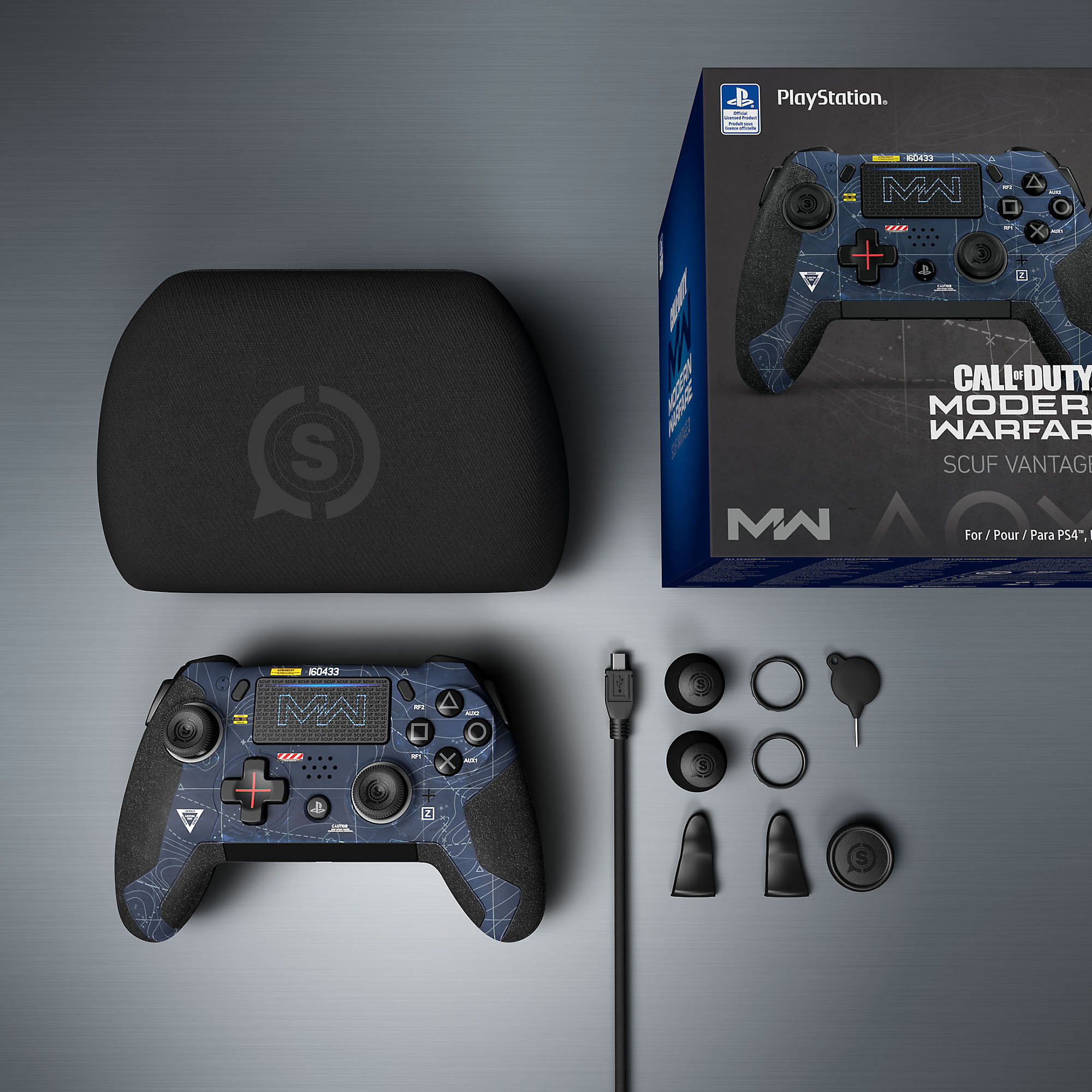 SCUF Vantage Modern Warfare Limited Edition Product Shot 1