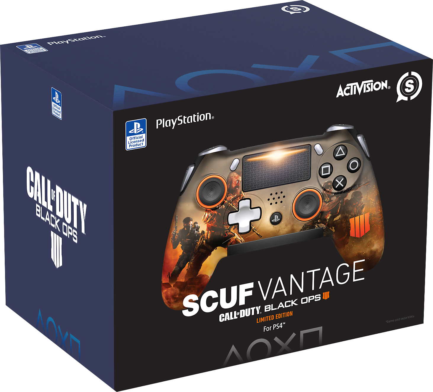 SCUF Vantage Black Ops 4 Limited Edition Packaging Shot 1