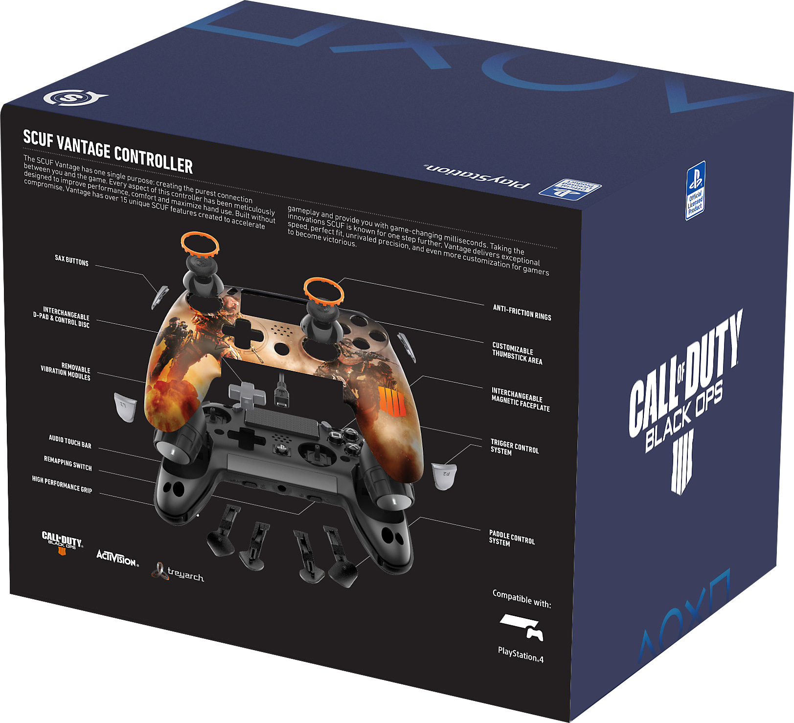 SCUF Vantage Black Ops 4 Limited Edition Packaging Shot 2