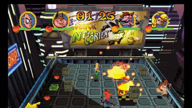 Crash Bash™ Game | PSONE - PlayStation