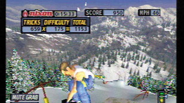 Cool Boarders® 2001 Screenshot 1