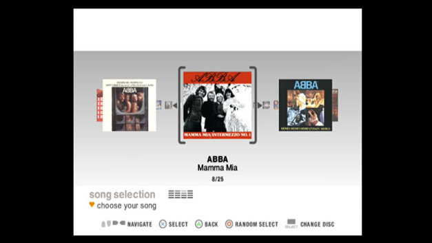 SingStar® ABBA® Screenshot 1