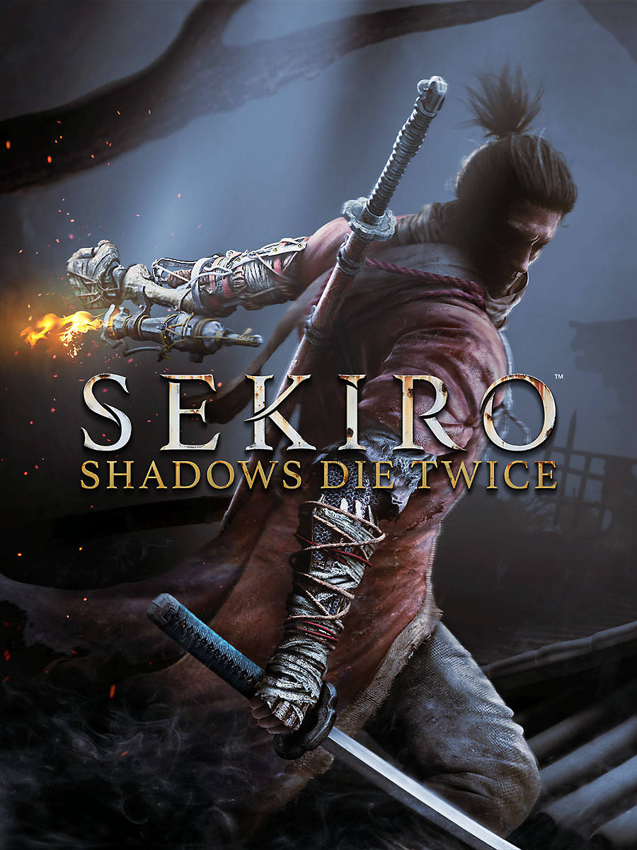 Sekiro Shadows Die Twice poster