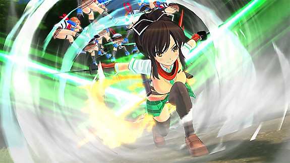 SENRAN KAGURA Burst Re:Newal - Screenshot INDEX