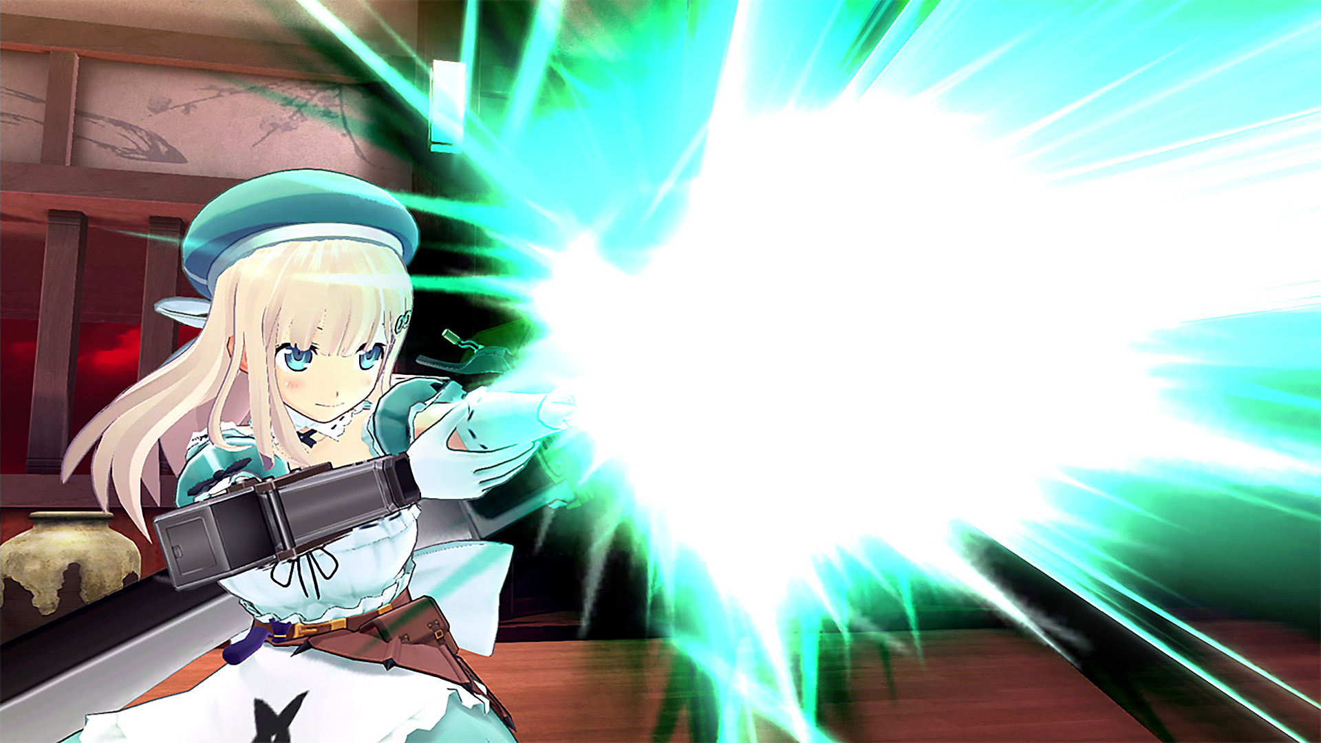 Tela do SENRAN KAGURA Burst Re:Newal