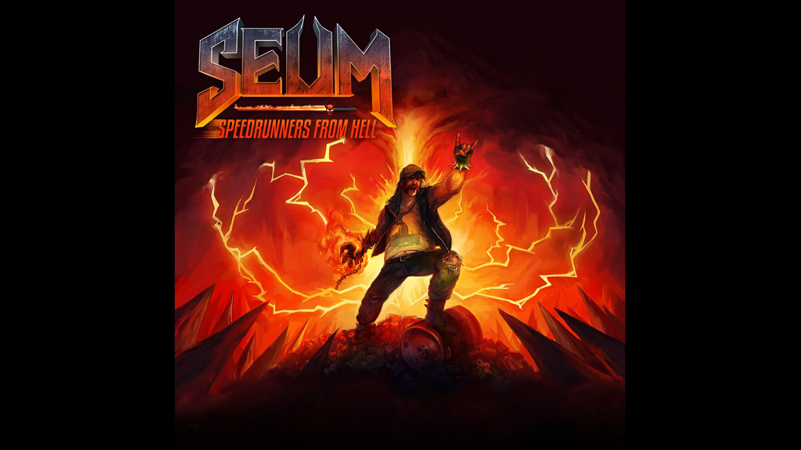 Seum Speedrunners From Hell Game Ps4 Playstation