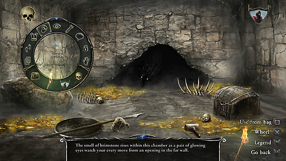 Shadowgate - Screenshot INDEX