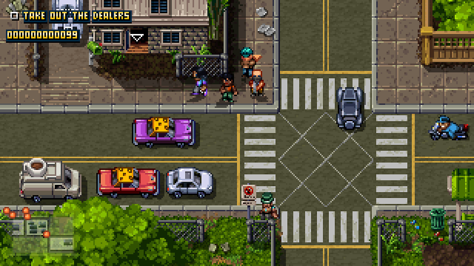 Gameplay de Shakedown: Hawaii