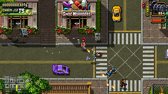 Shakedown: Hawaii - Screenshot INDEX