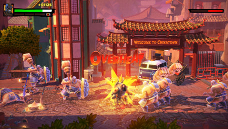 Shaq Fu: A Legend Reborn Trailer Screenshot