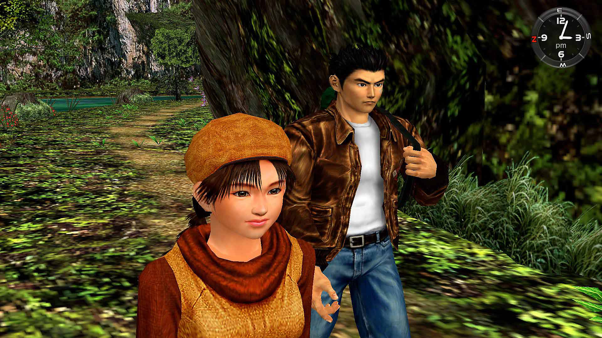 Shenmue 1 and 2 Game Banner