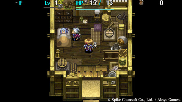 Shiren The Wanderer: The Tower of Fortune and the Dice of Fate Screenshot 4