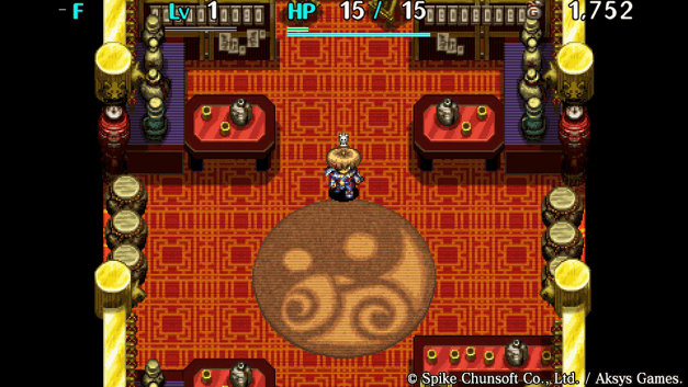 Shiren The Wanderer: The Tower of Fortune and the Dice of Fate Screenshot 1