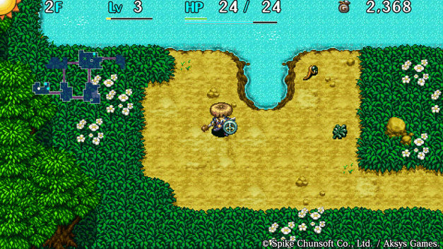 Shiren The Wanderer: The Tower of Fortune and the Dice of Fate Screenshot 7