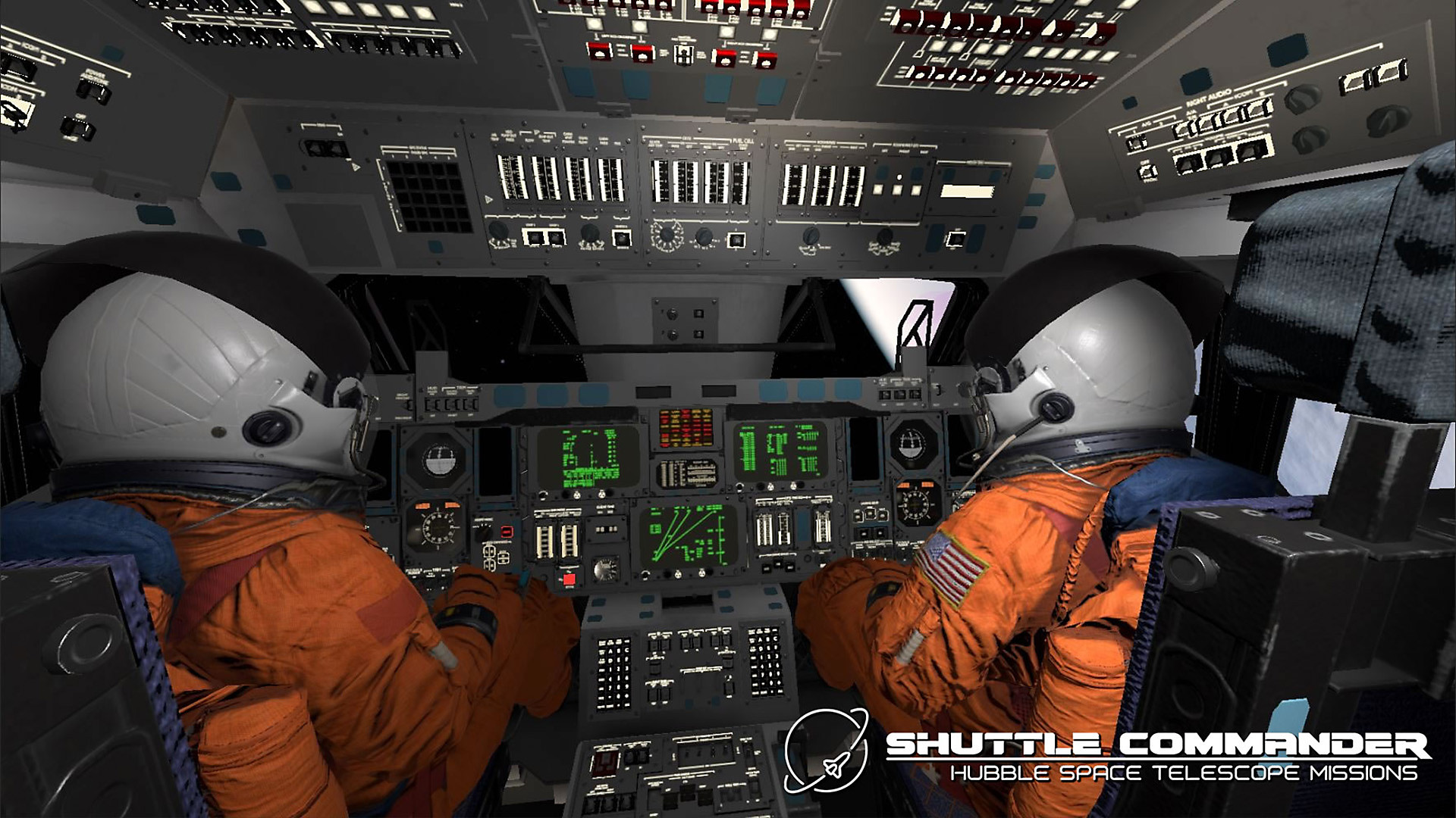 Gameplay de Shuttle Commander
