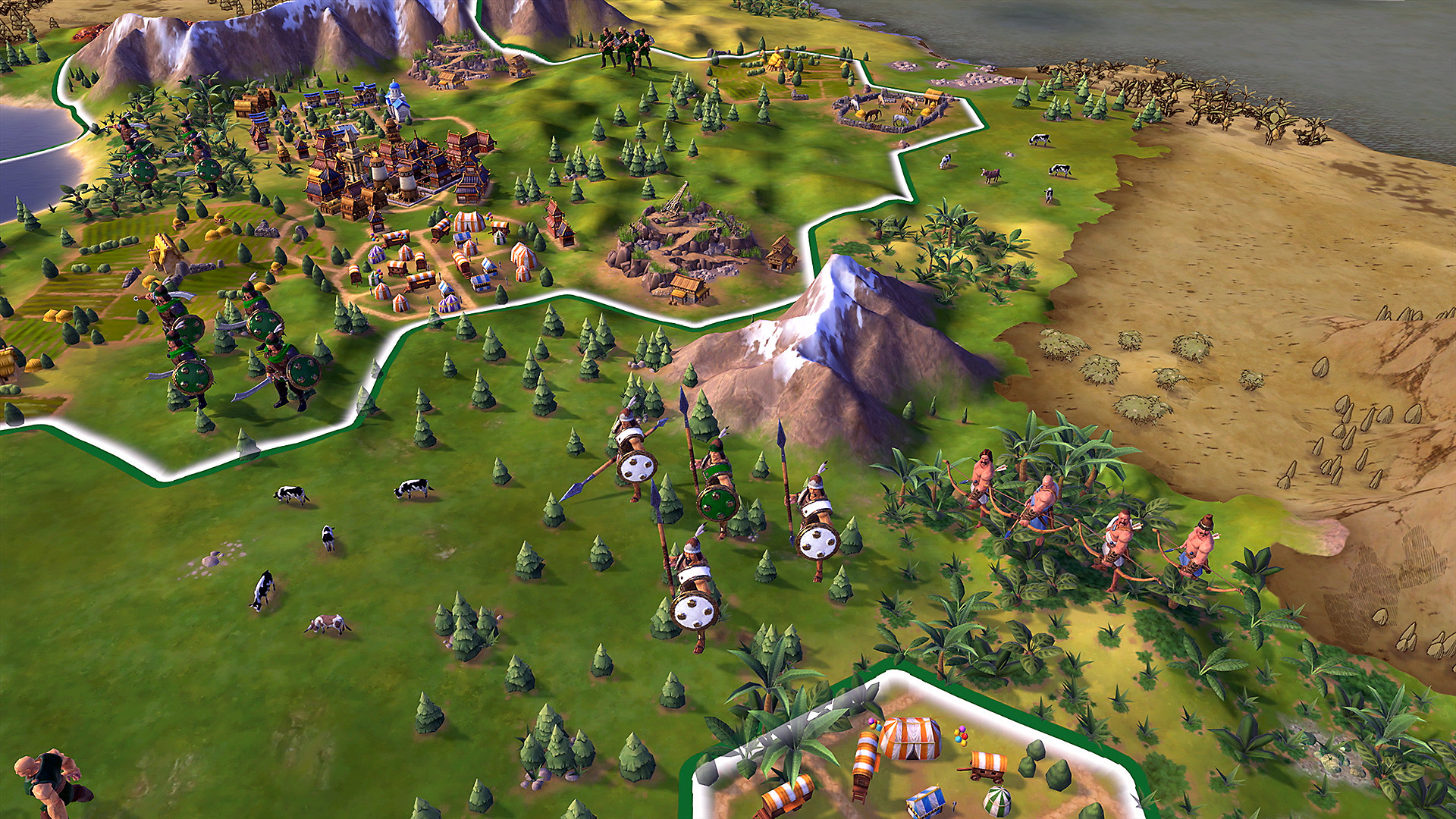 Sid Meier's Civilization VI en acción