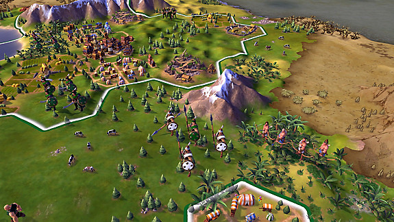 Sid Meier's Civilization VI - Screenshot INDEX