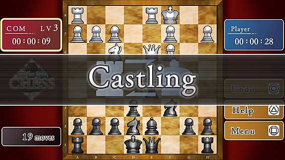 SILVER STAR CHESS - Screenshot INDEX