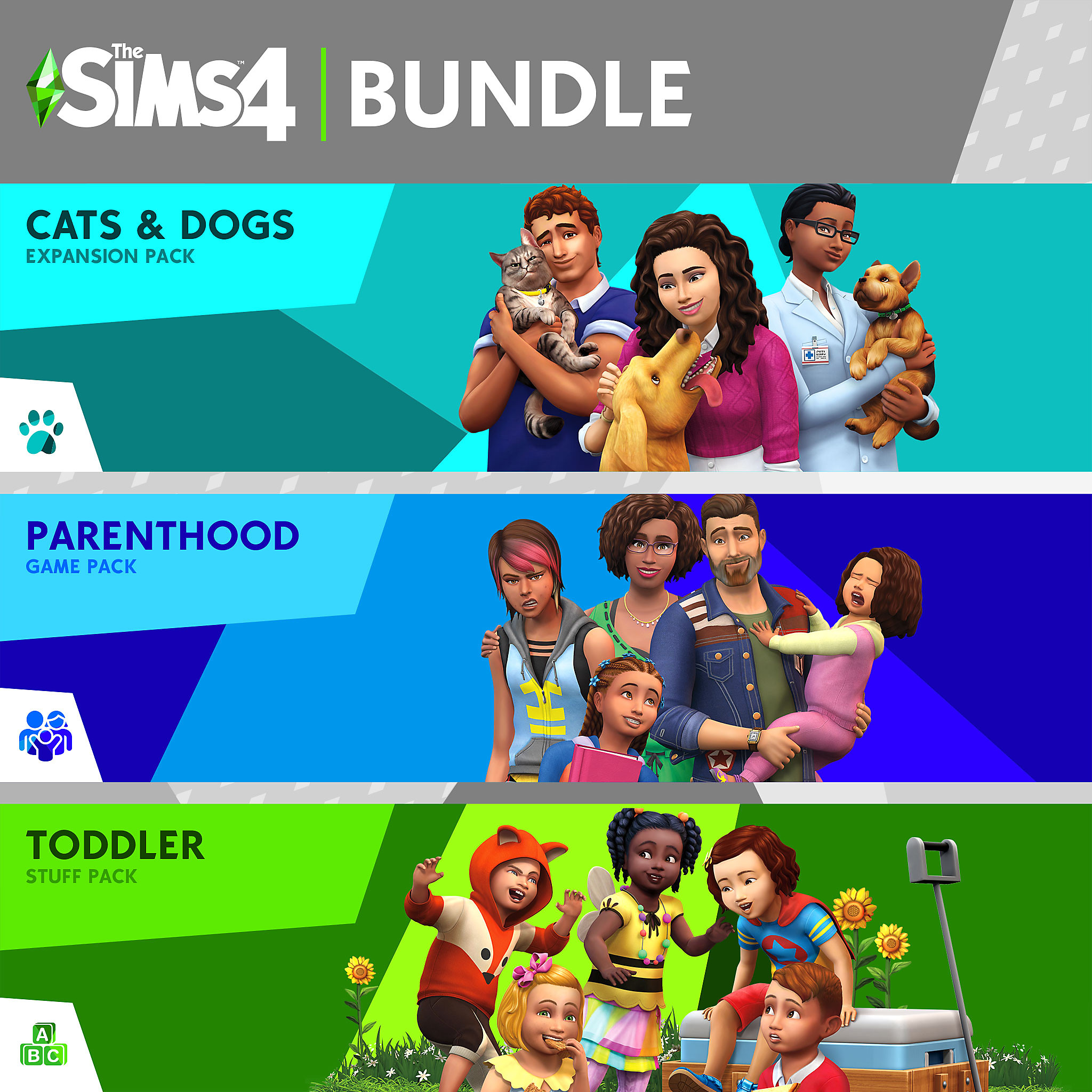 Cats & Dogs, Parenthood, Toddler Stuff Bundle