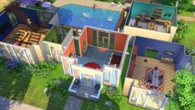 sims 4 screen 02 ps4 us 18july2017?$MediaCarousel Original$ - بازی اورجینال The Sims 4 پلیاستیشن ۴