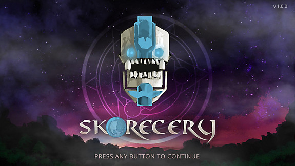 Skorecery - Screenshot INDEX