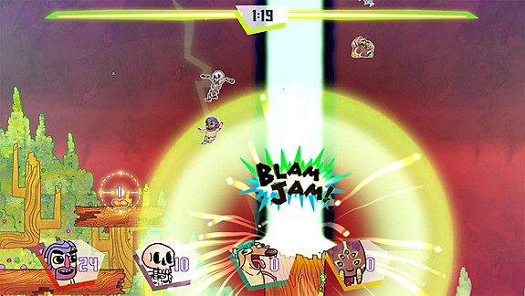 Slam Land screenshot