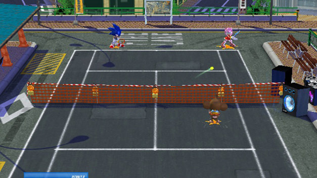 Sega Superstars Tennis Screenshot 1