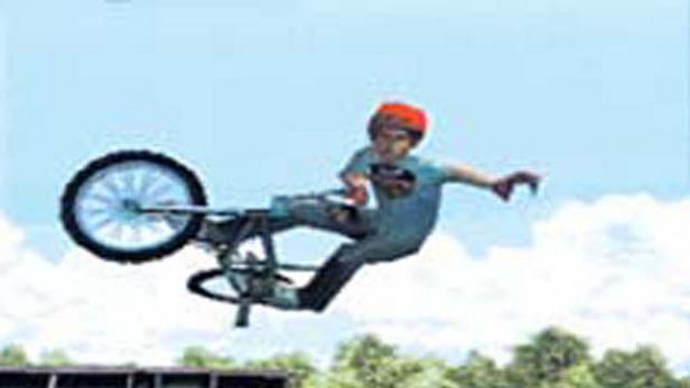 Dave Mirra Freestyle BMX Screenshot 1