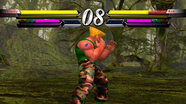 Street Fighter EX3 Screenshot 1