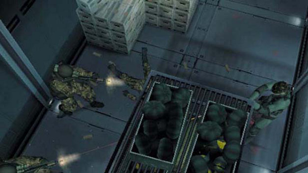 Metal Gear Solid 2: Sons of Liberty Screenshot 1