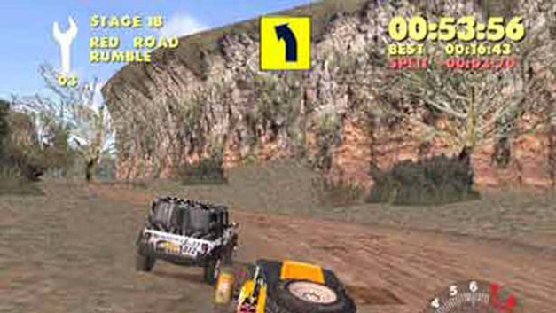 paris dakar rally game ps2 playstation. Black Bedroom Furniture Sets. Home Design Ideas