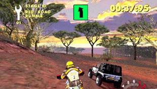 Paris Dakar Rally Screenshot 3