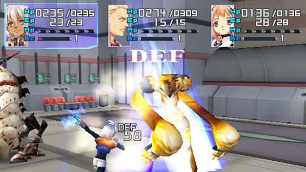 Xenosaga Episode I: Der Wille zur Macht Screenshot 13