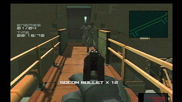 Metal Gear Solid 2: Substance Screenshot 19