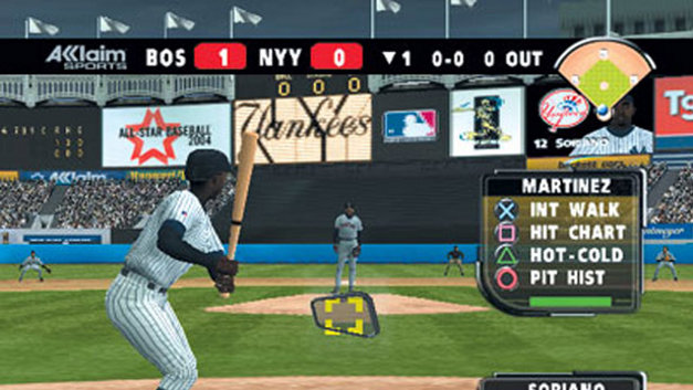 All-Star Baseball 2004 Screenshot 1