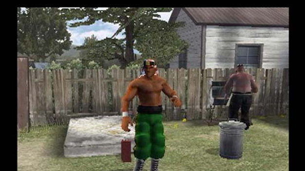 Backyard Wrestling: Don't Try This At Home Screenshot 4