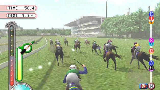 Gallop Racer 2003: A New Breed Screenshot 4
