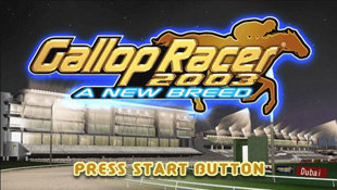 Gallop Racer 2003: A New Breed Screenshot 8